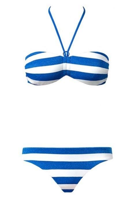 costume-righe-blu