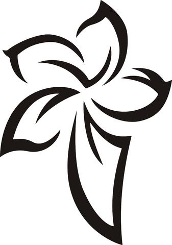fiore-tribale