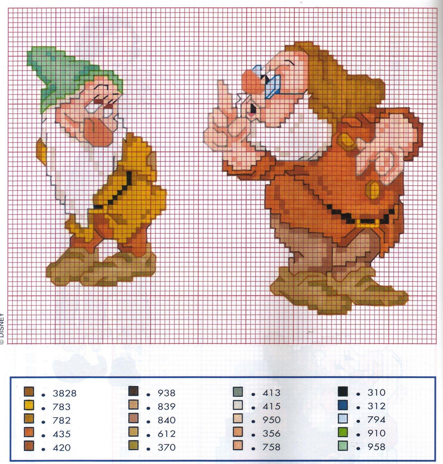Schemi punto croce 1 for Schemi punto croce animali gratis