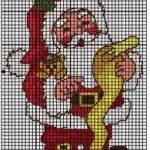 Schemi punto croce - Natale
