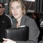 Kate Winslet arrives at the Hotel Concorde in Berlin, Germany  - 11 Mar 2008