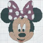 schema-punto-croce-walt-disney-minnie