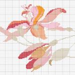schemi punto croce - fiore1