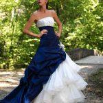 abiti da sposa bicolore