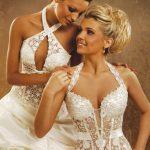 abiti da sposa corpetto merlettato
