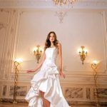 abiti da sposa elegante spacco