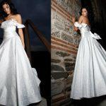 abiti da sposa fiocco dietro