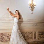 abiti da sposa particolare velo