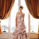 abiti da sposa rosa anticato