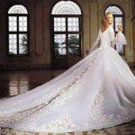 abiti da sposa strascico lunghissimo
