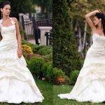 abiti da sposa stretto