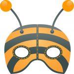 maschere-carnevale da stampare -ape