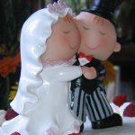 statuetta torta di nozze