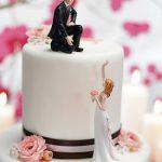 statuette torta di matrimonio cake topper