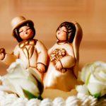 statuette torta di nozze thun
