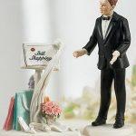 statuina nuziale torta