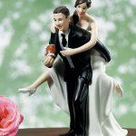 statuine cake topper matrimonio torta