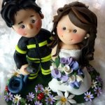 statuine matrimonio vigili del fuoco