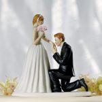 statuine torta di nozze sposi