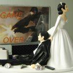 statuine torte nozze GAMEOVER