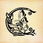 tatuaggi lettere c