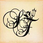 tatuaggi lettere diavoletta