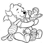winnie the pooh da colorare pasqua disegni da colorare