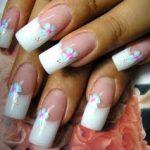 decorazione unghie semplice