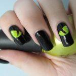 nail art dark