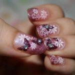 nail art farfalla