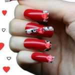 nail art gallery cuori