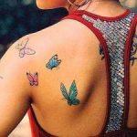 tatu farfalle
